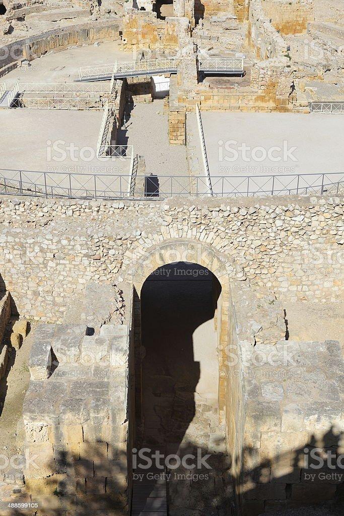 Tarragona Roman cirque stock photo