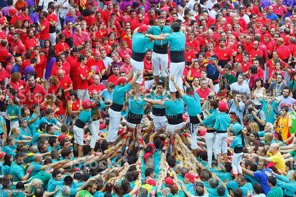 Tarragona, Spain - October 4, 2014 stock photo