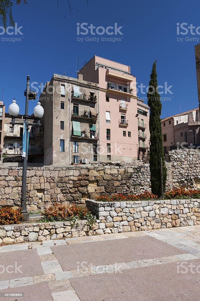 Tarragona town in Spain royalty-free stock photo
