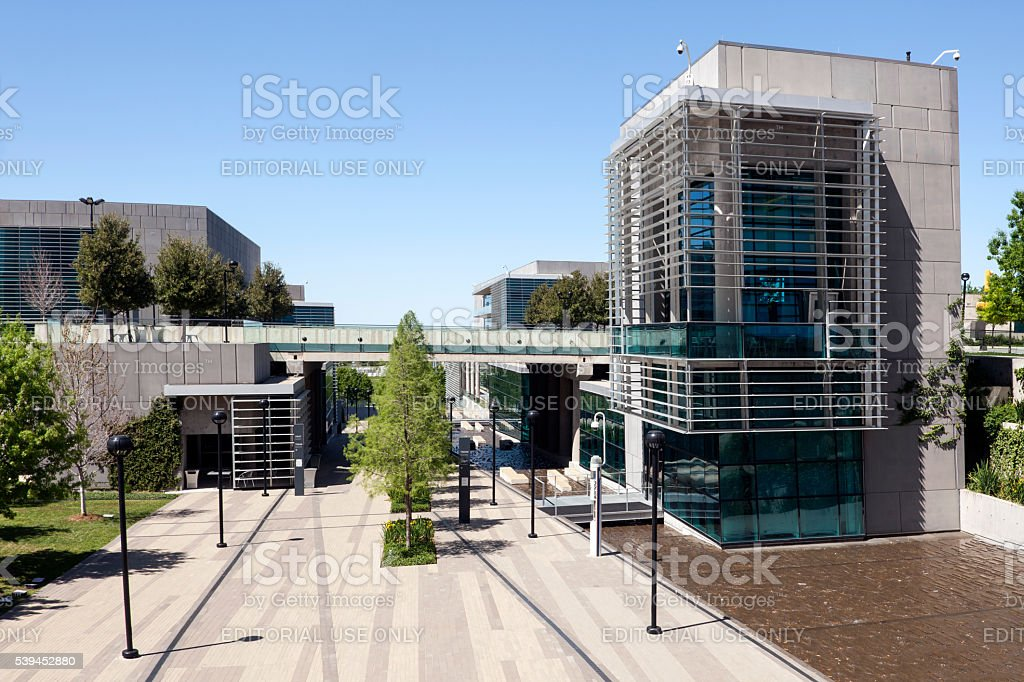 Tarrant County College in Fort Worth stock photo