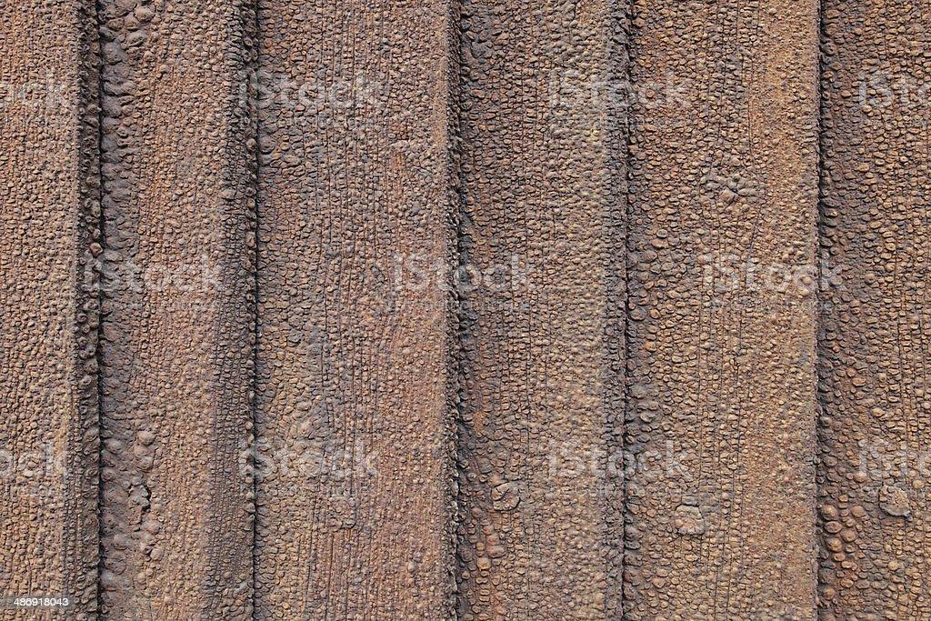 Tarred wall royalty-free stock photo