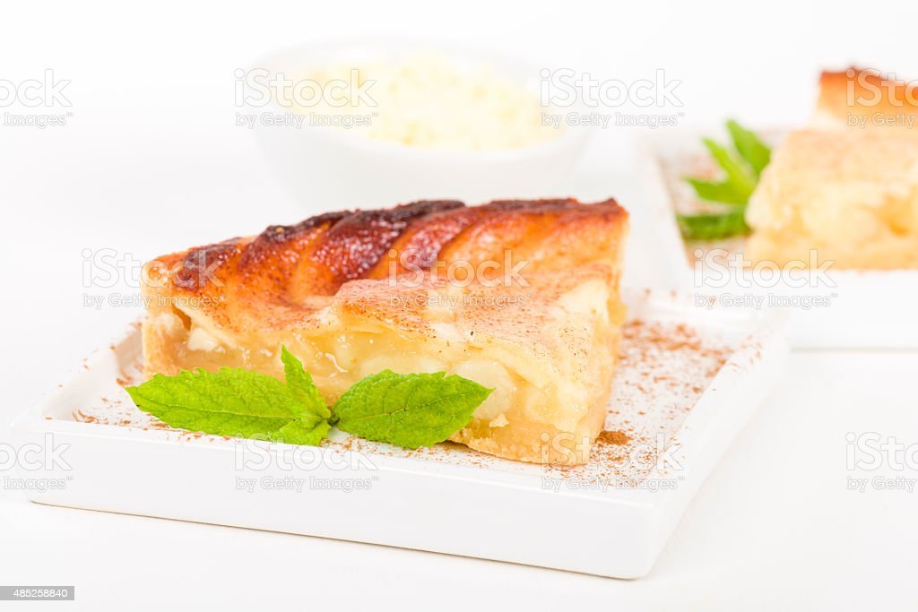Tarte Aux Pommes stock photo