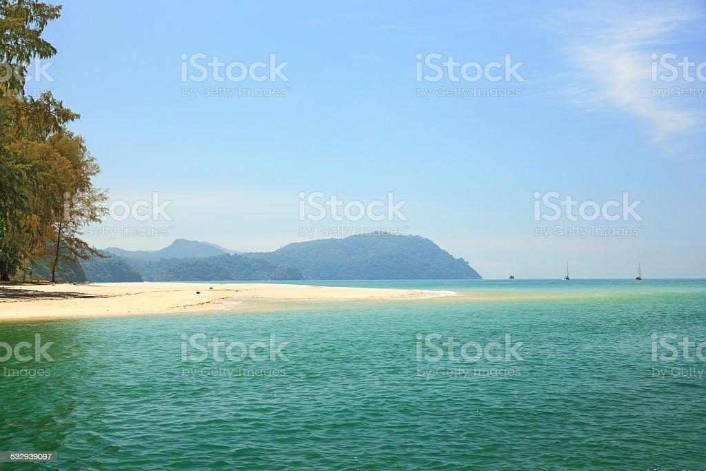 Tarutao beach stock photo