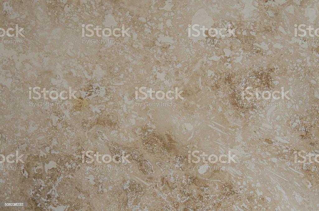 Tarvertine Tile Close Up stock photo