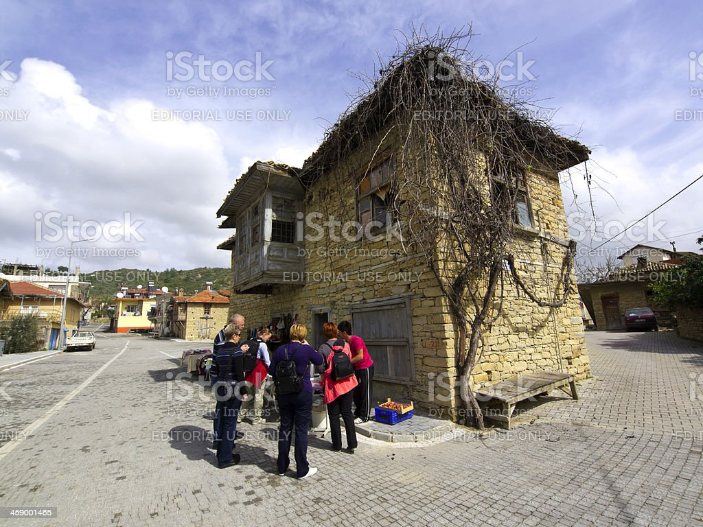 Tasagil house stock photo