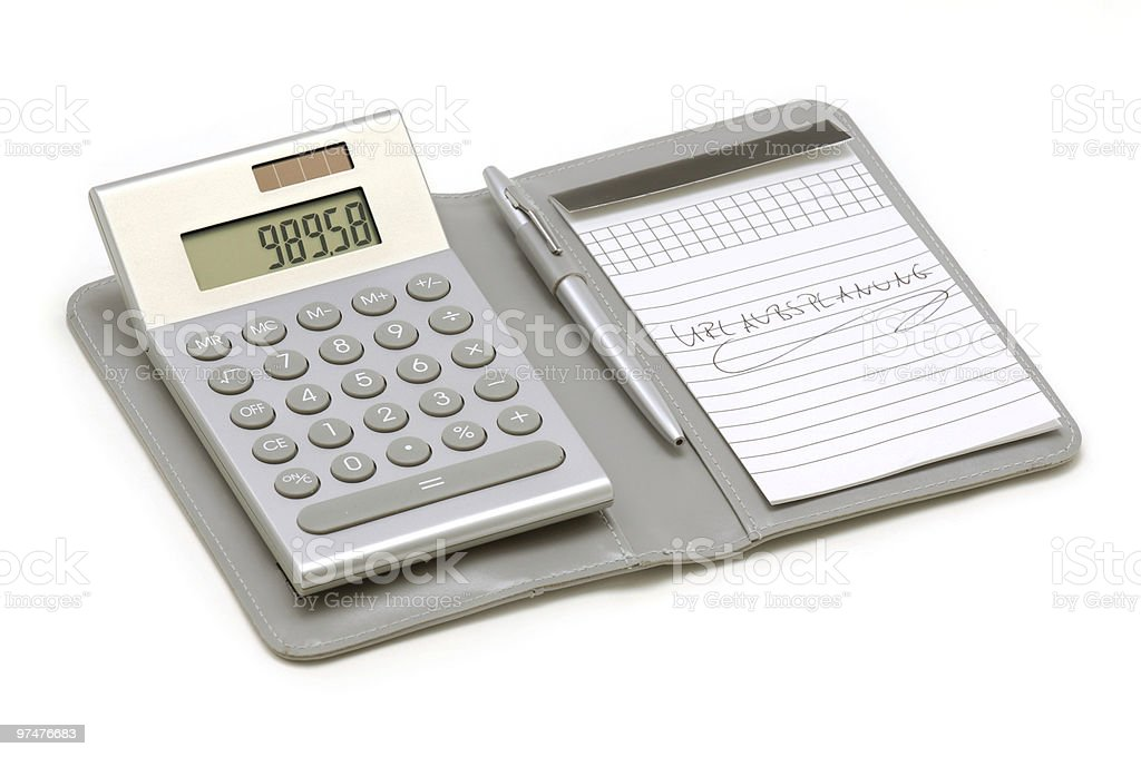 Taschenrechner royalty-free stock photo