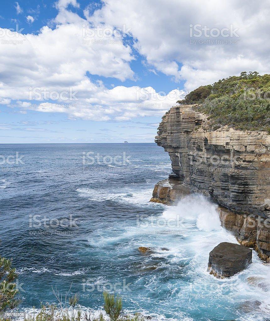 Tasman National Park stock photo