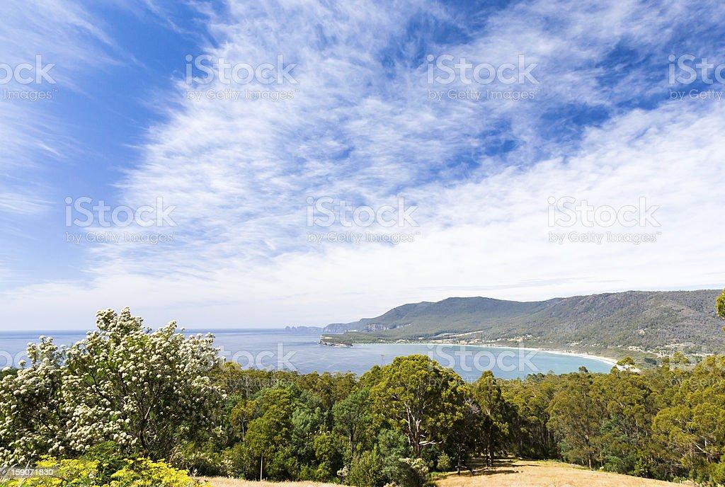 Péninsule de Tasman, de Tasmanie photo libre de droits