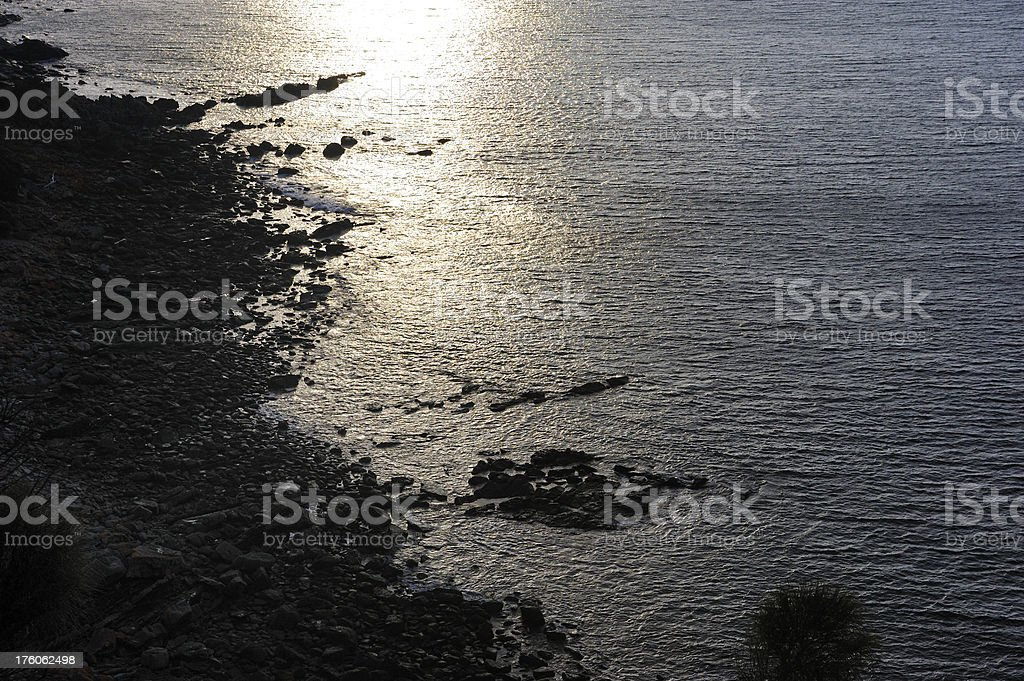 Tasmanian Beach stock photo