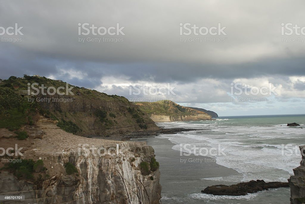 Tasmanian Coast stock photo