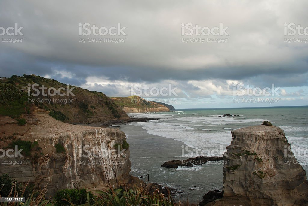 Tasmanian Coast, Tasmania Australia stock photo