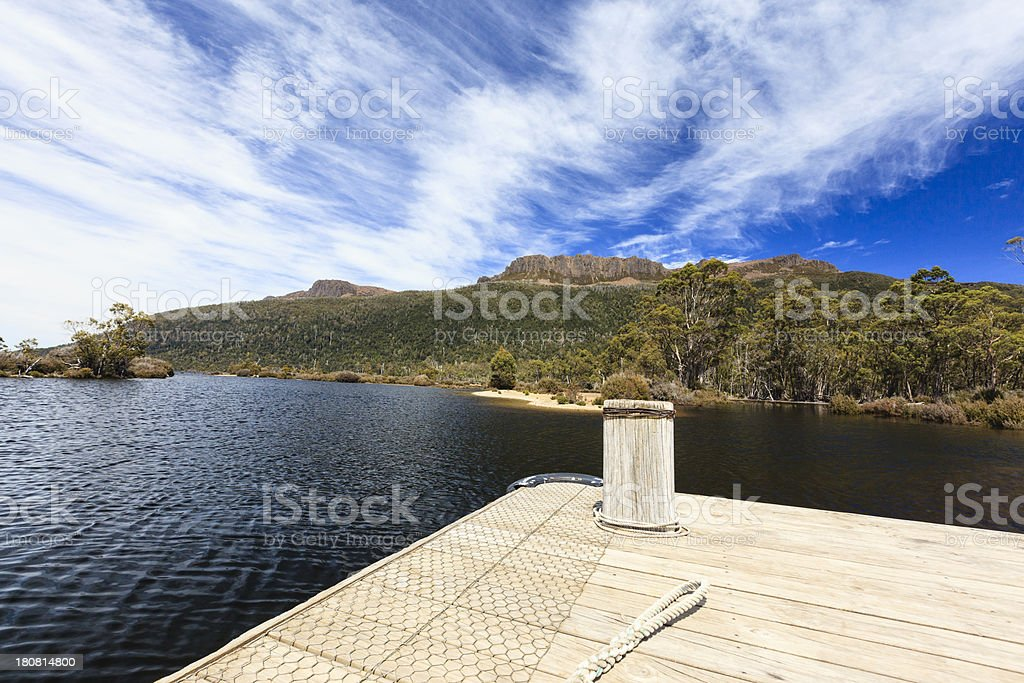 Tasmanian Overland track royalty-free stock photo