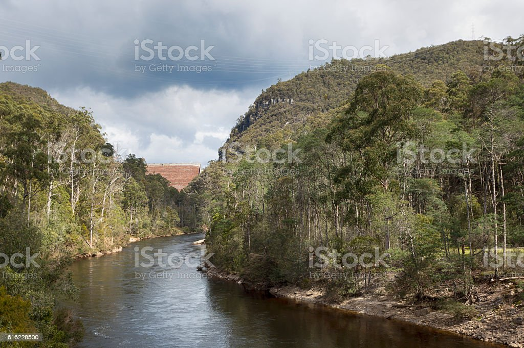 Tasmanian Power stock photo