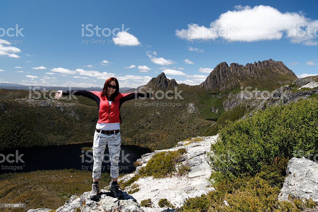 Tassie traveler royalty-free stock photo