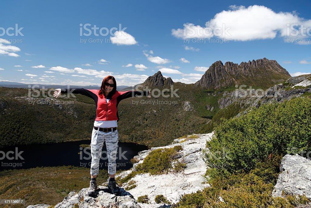 Tassie traveler stock photo