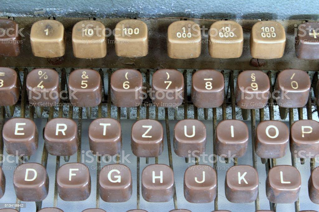 Tastatur stock photo