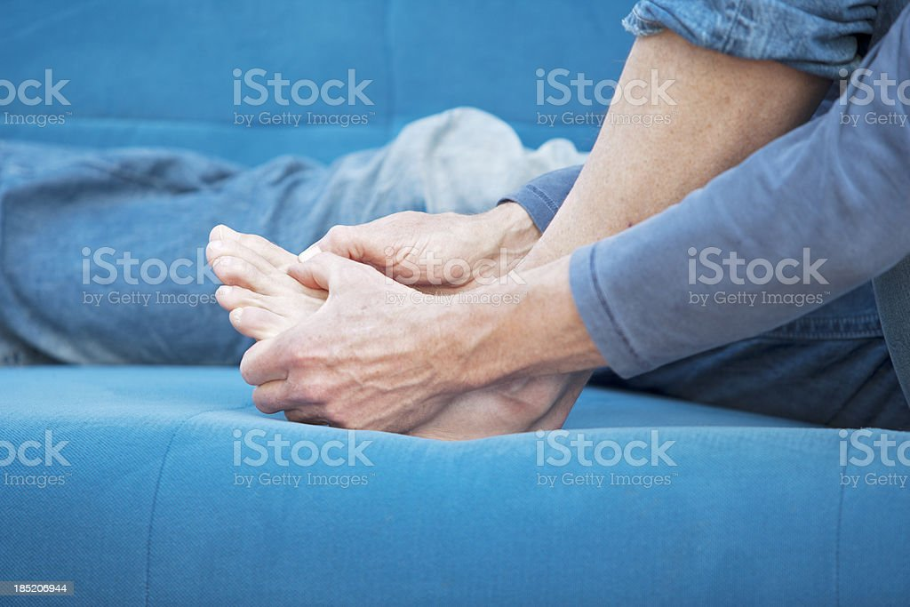 Gout royalty-free stock photo