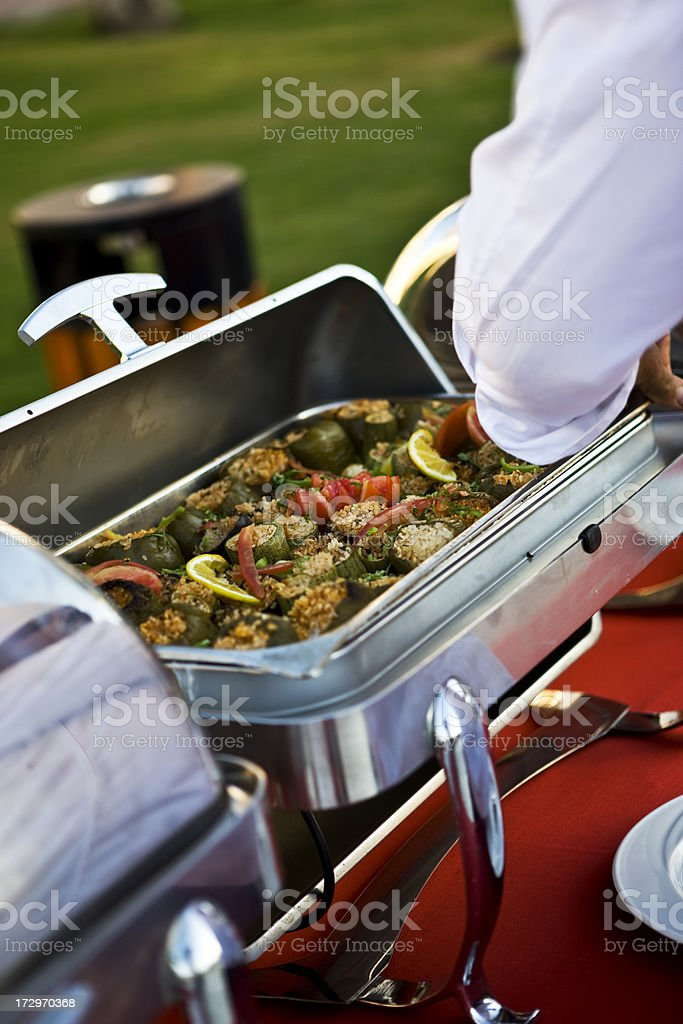 Tasteful catering royalty-free stock photo