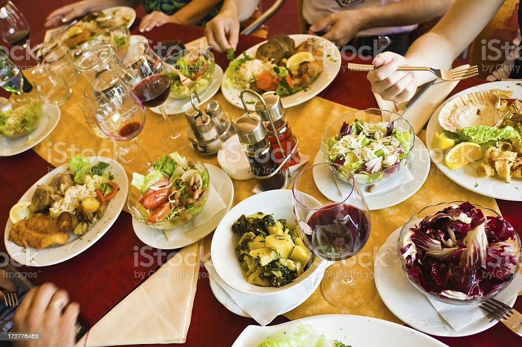Tasteful Dinner stock photo