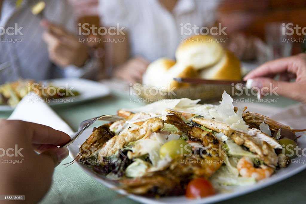 Tasteful lunch royalty-free stock photo
