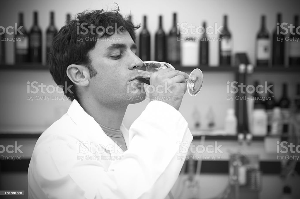 Taster professional royalty-free stock photo