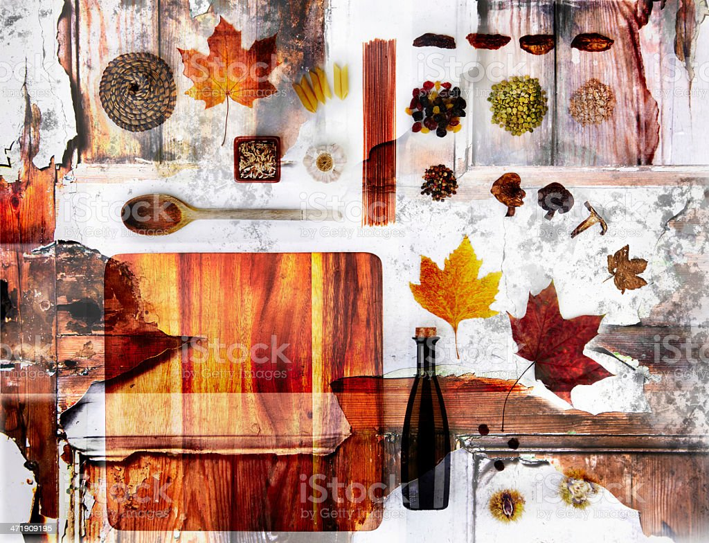 Tastes Of Autumn stock photo