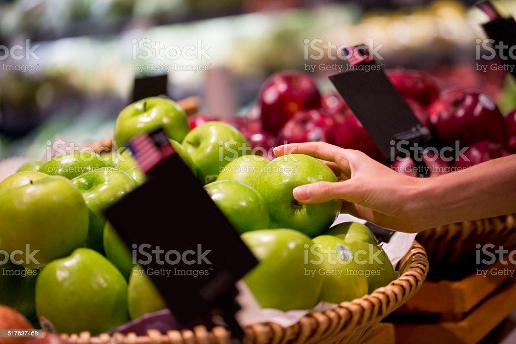 Tasty apple stock photo