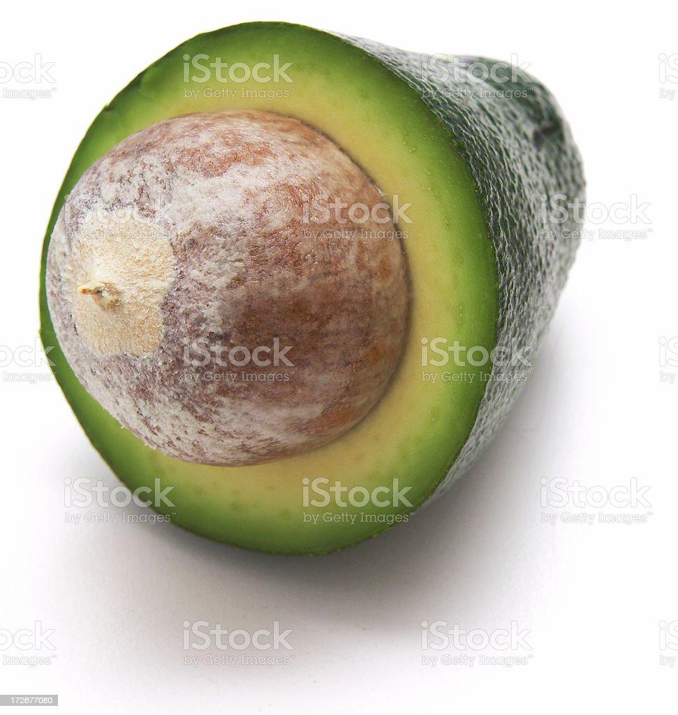 tasty avocado isolated royalty-free stock photo