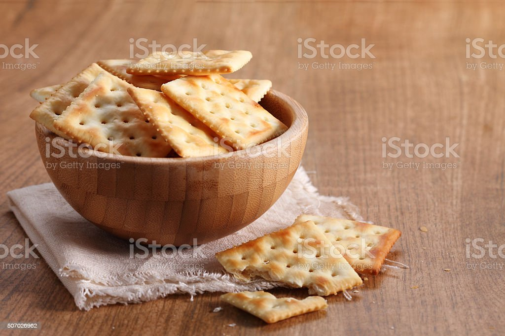 tasty biscuits in a cup stock photo