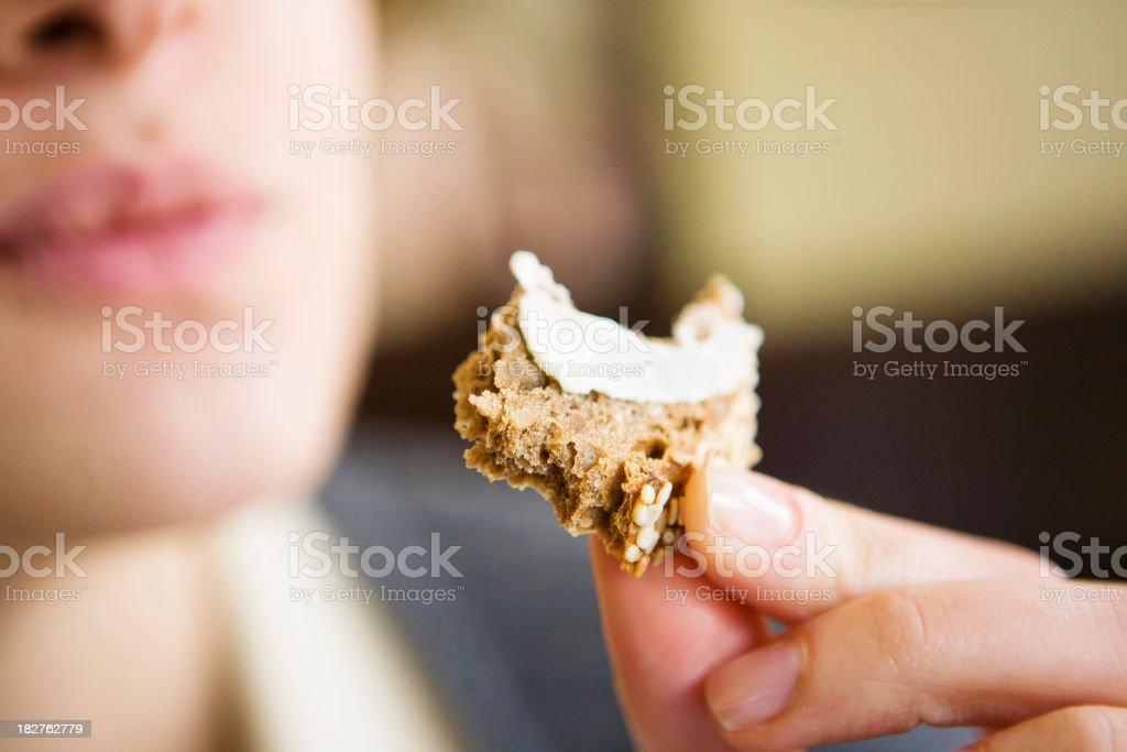 Tasty bite stock photo