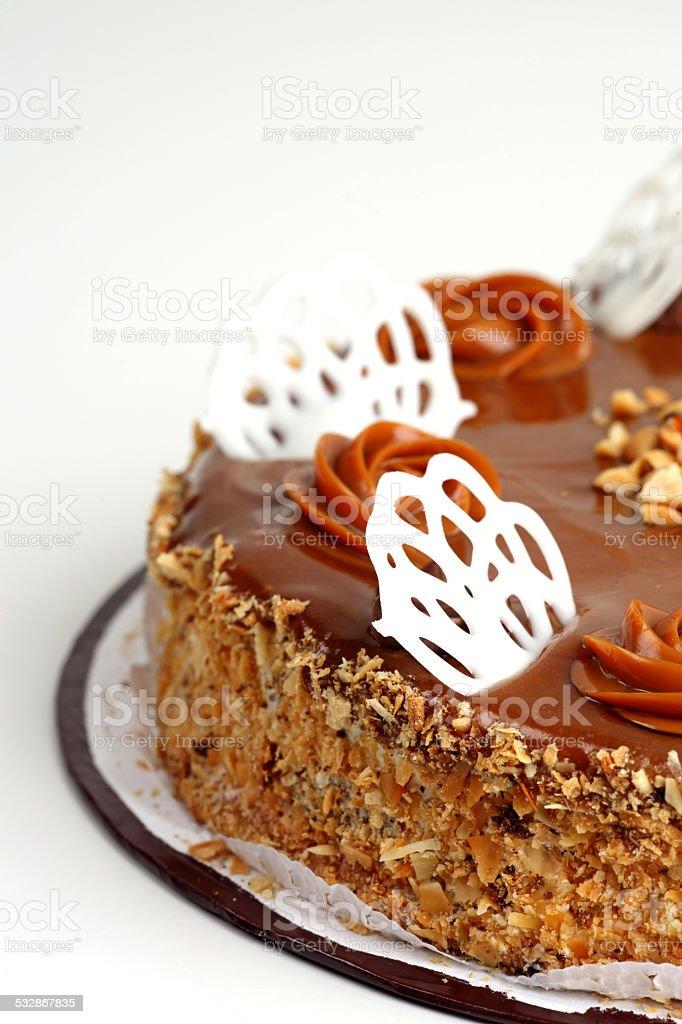 tasty cake stock photo
