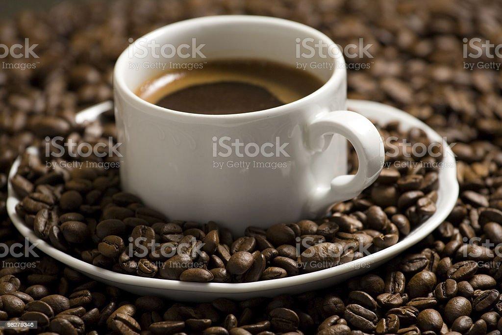 Tasty coffee royalty-free stock photo