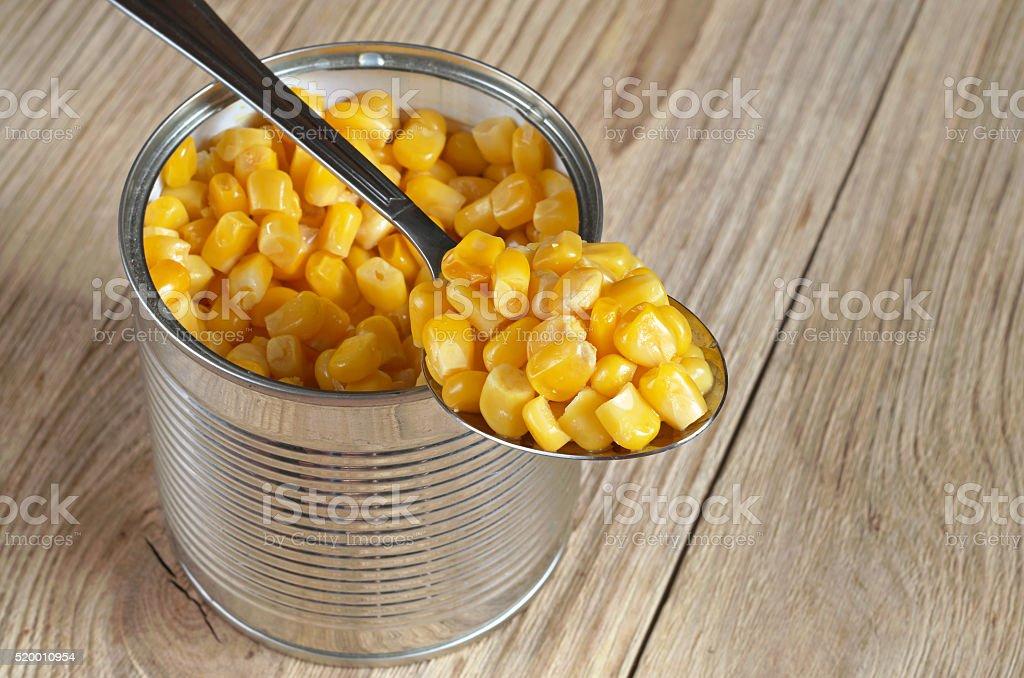Tasty corn grain stock photo