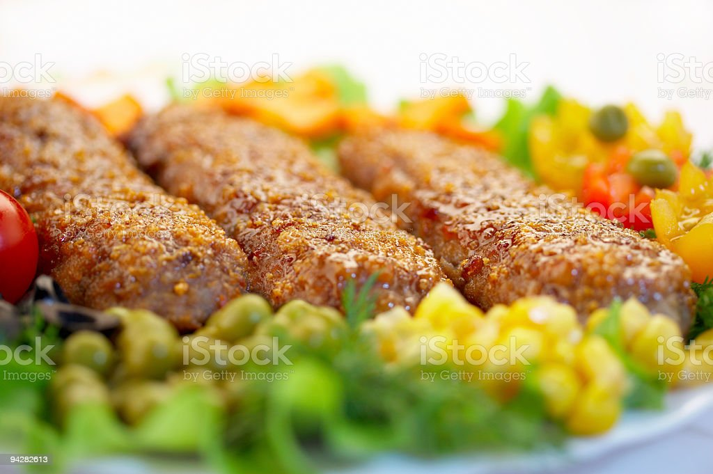 Tasty dish royalty-free stock photo