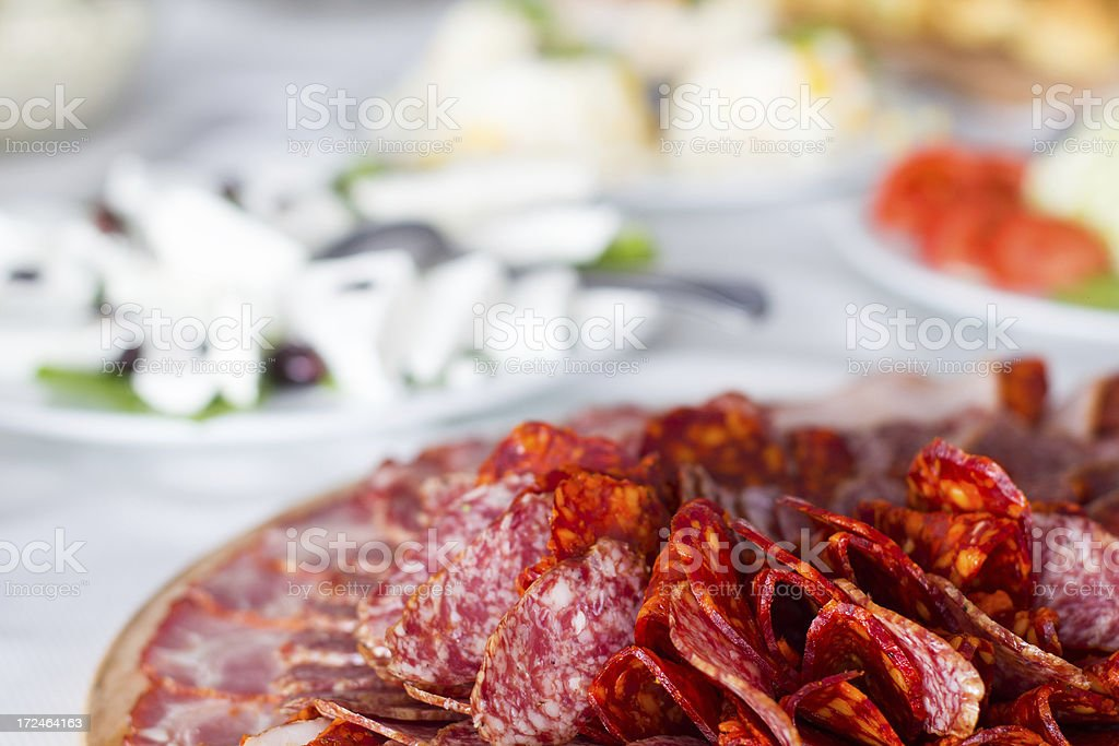 Tasty food ready for banquet royalty-free stock photo