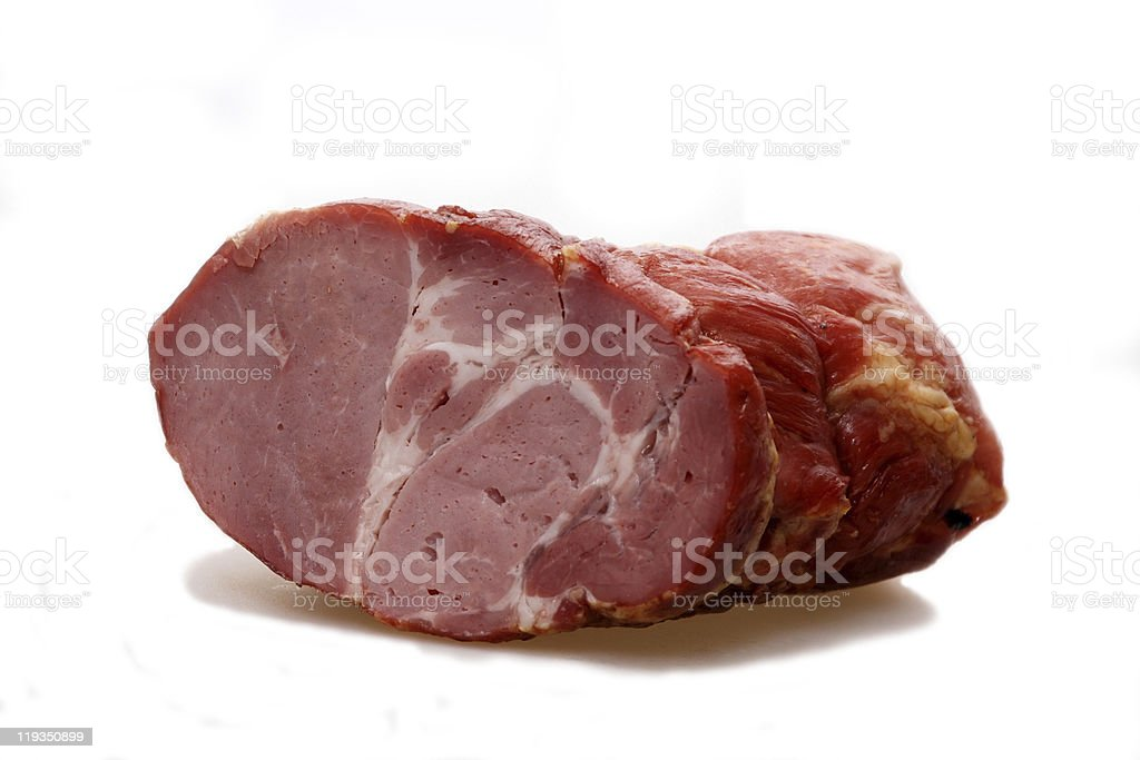 tasty ham royalty-free stock photo
