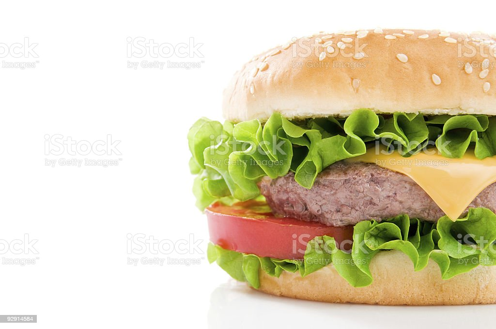 Tasty hamburger royalty-free stock photo