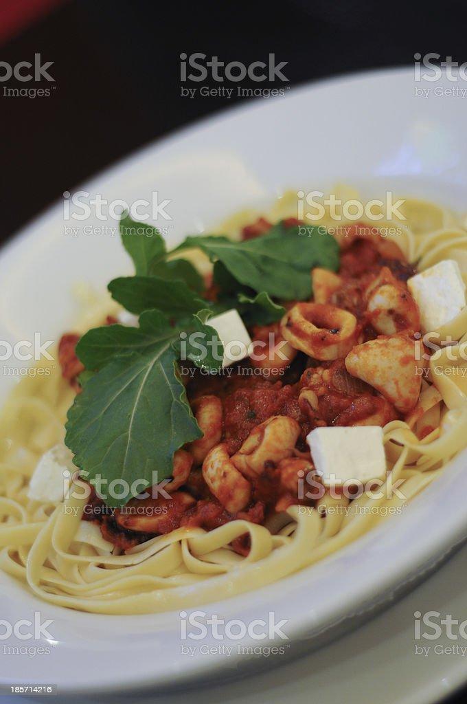 Tasty italian treat royalty-free stock photo