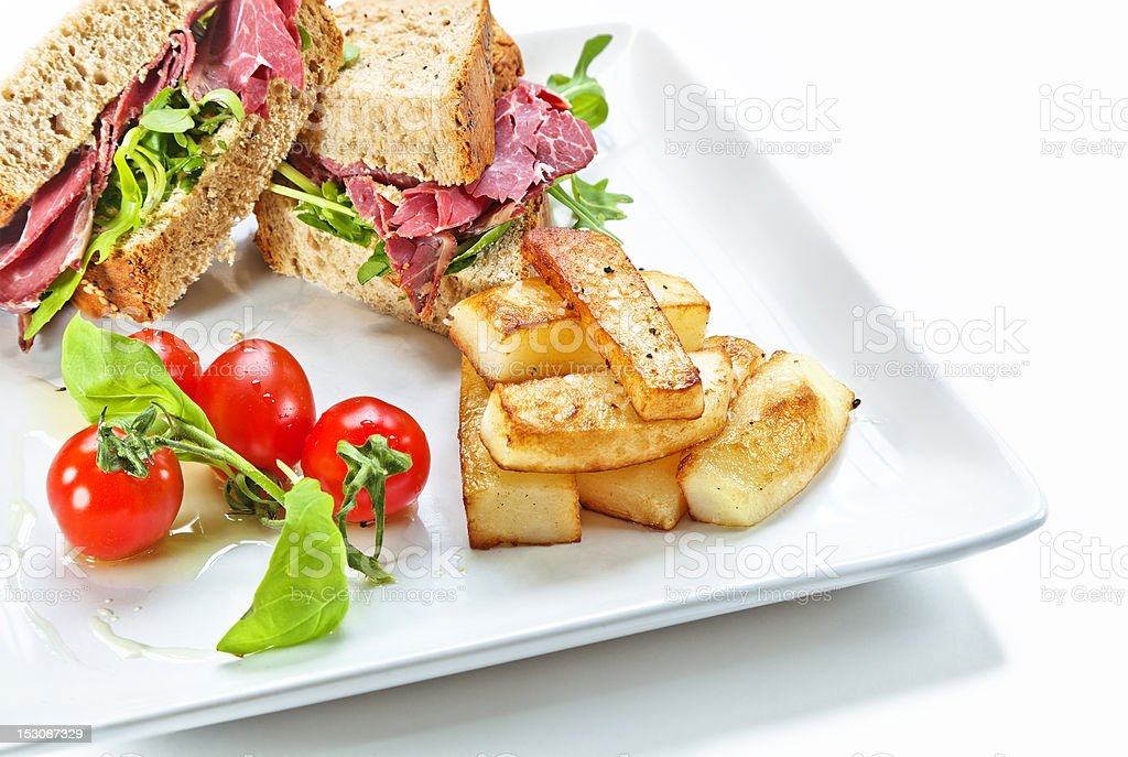 Tasty Lunch royalty-free stock photo