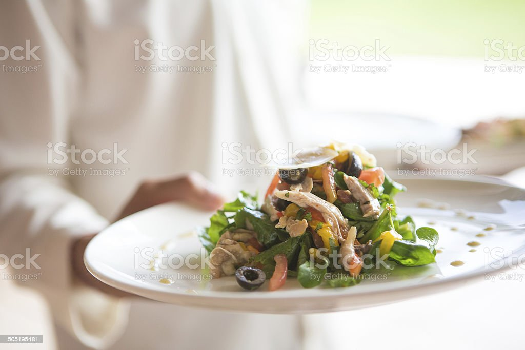 Tasty lunch stock photo