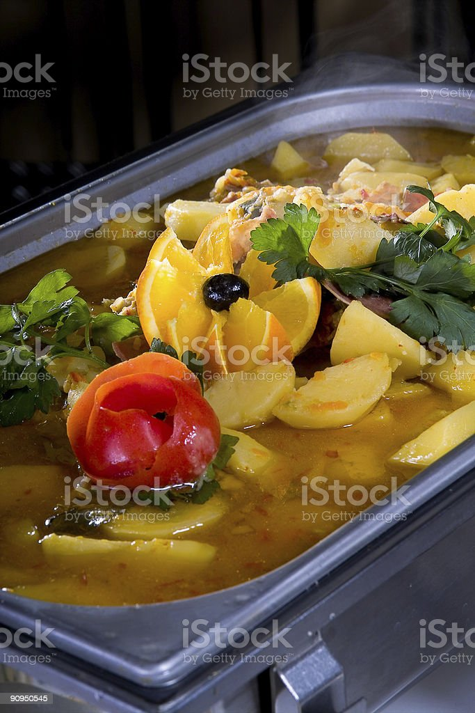 Tasty meal stock photo