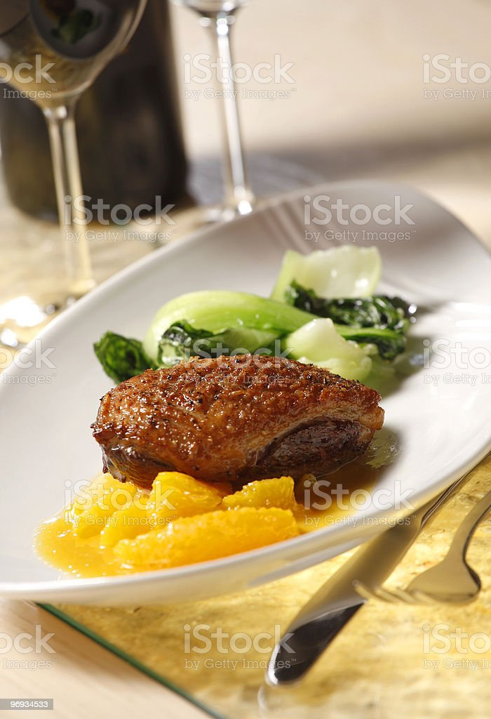 Tasty meal royalty-free stock photo
