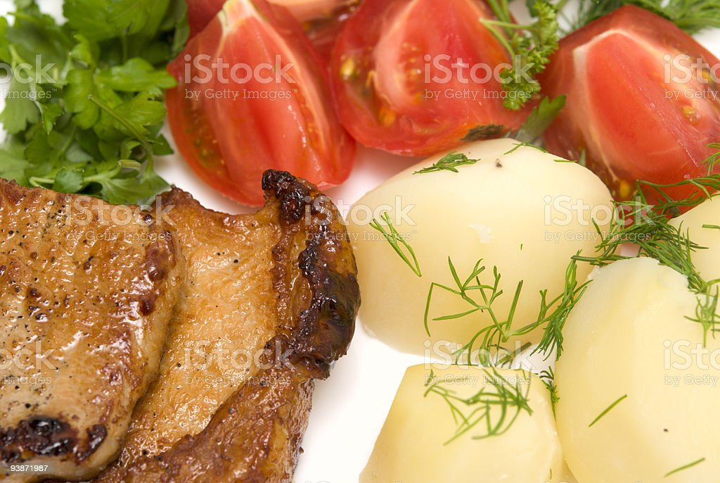 tasty meat royalty-free stock photo