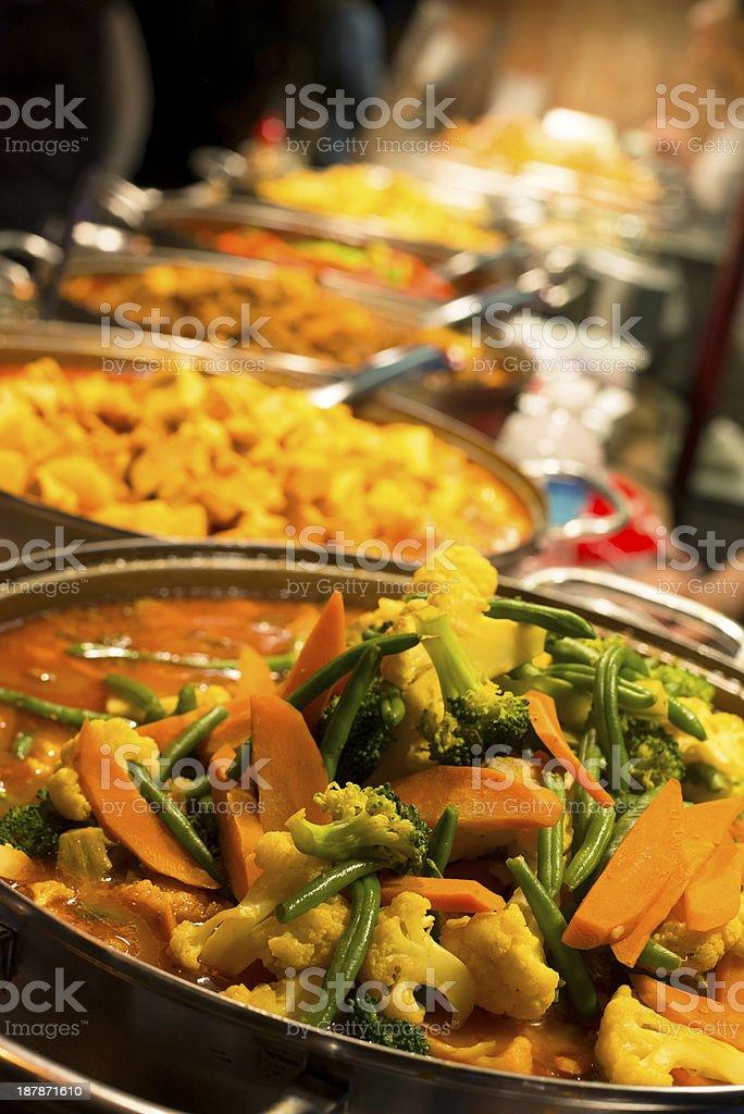 Tasty Mexican Food at Street Market, London UK stock photo