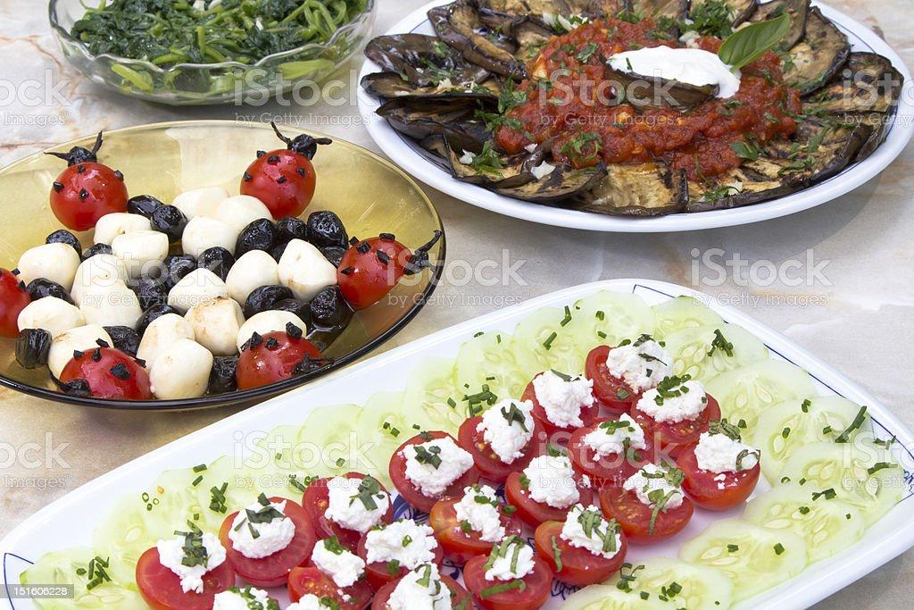 Tasty organic food decoration royalty-free stock photo