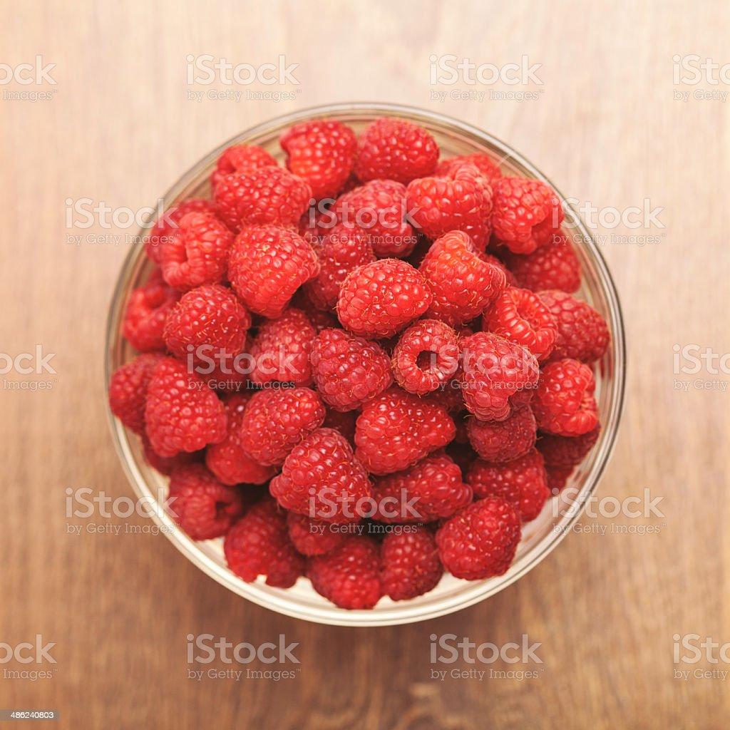Tasty Raspberry royalty-free stock photo