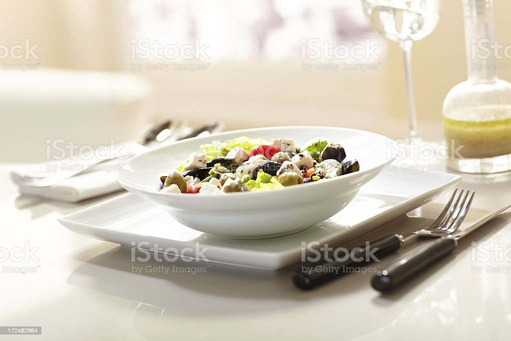 Tasty salad royalty-free stock photo