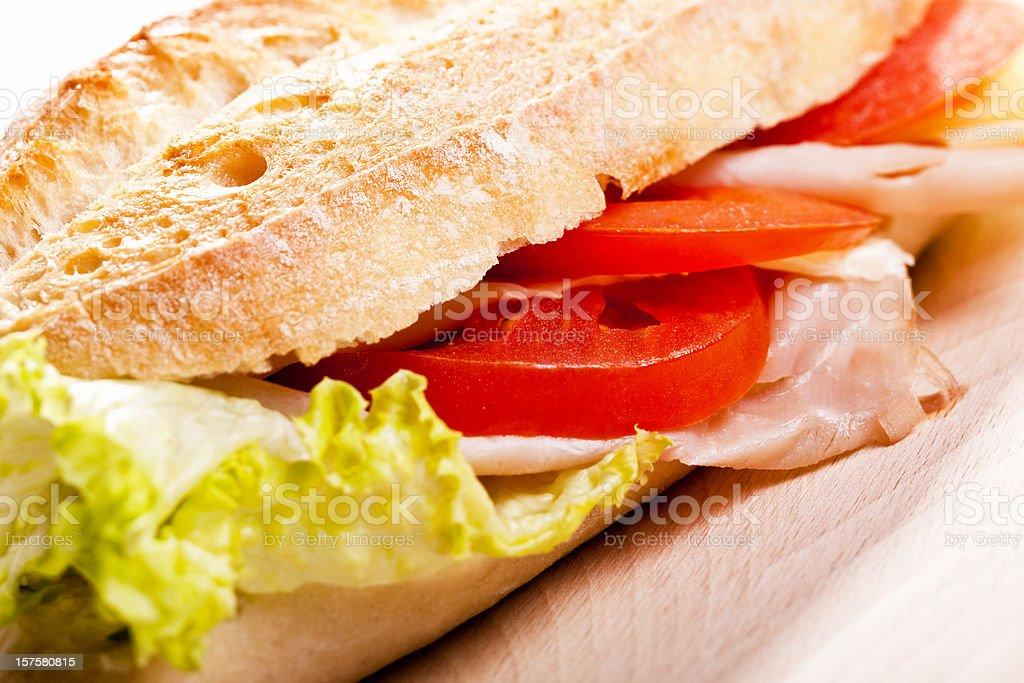 Tasty sandwich royalty-free stock photo