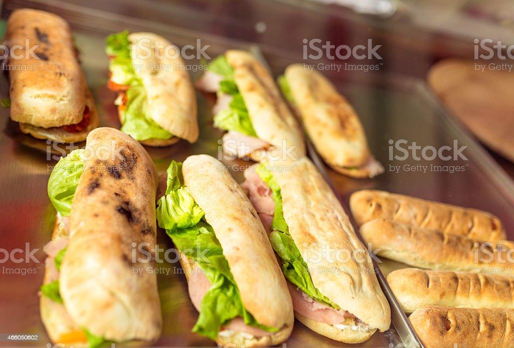 Tasty sandwich stock photo