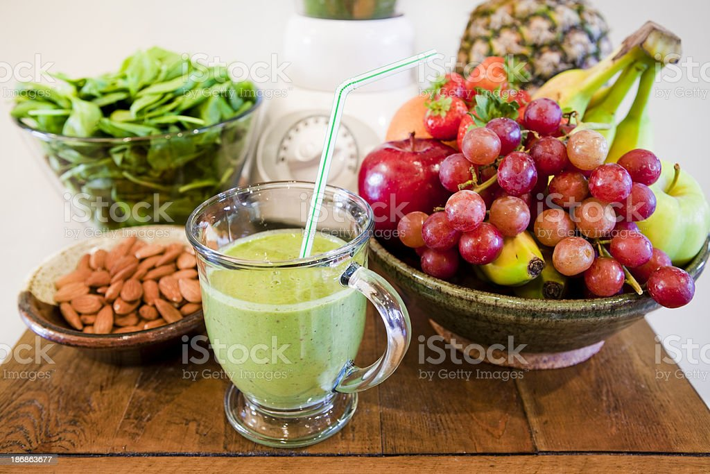 Tasty Smoothie royalty-free stock photo